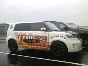 Firehouse Subs Scion Wrap